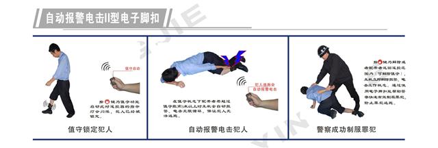 头条丨完美防止犯人脱逃警用装备,佩戴电子脚扣保护干警、犯人永远零逃脱(组图)