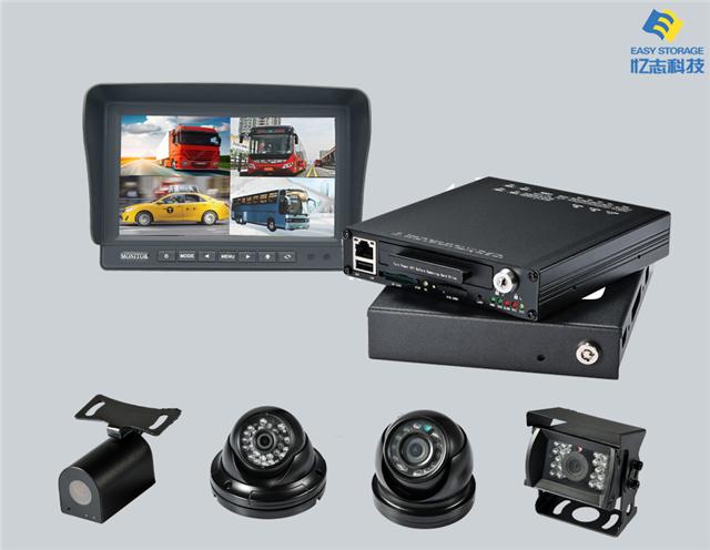 8路1080P高清车载监控系统(组图)