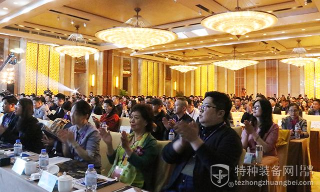 2018中国(杭州)特种装备行业发展高峰论坛嘉宾走红毯秀(组图)
