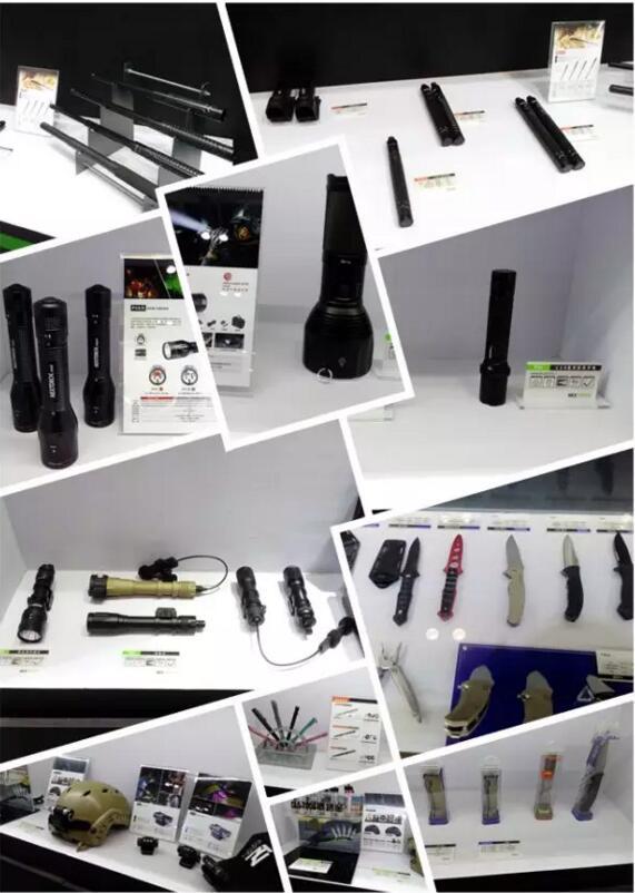 武器装备齐聚警博会,痛快体验纳家军警线产品(组图)