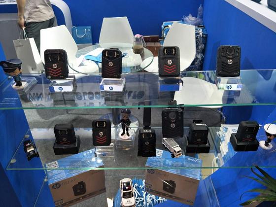 2018警博会圆满落幕 惠普执法记录仪新品受关注