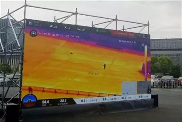 人脸车牌识别、动静结合展示……看海康威视无人机上海安博会大放异彩(组图)