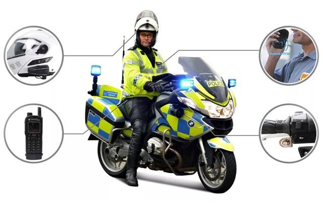 更便捷更安全 骑警蓝牙无线通讯完善执法模式(附视频)
