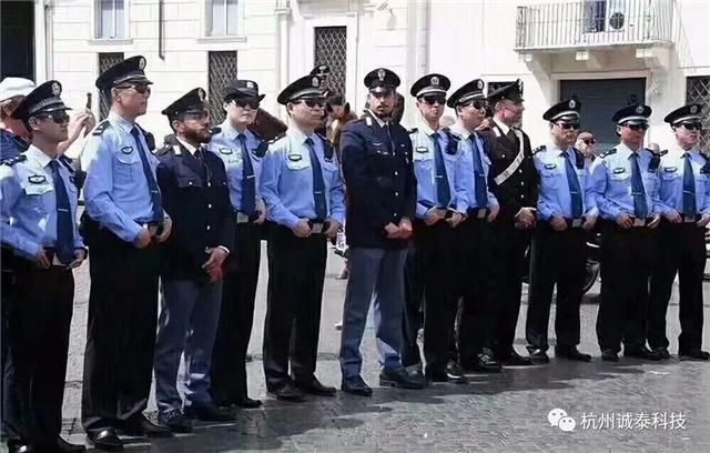 中意联合巡逻圆满结束,七名赴意警察携
