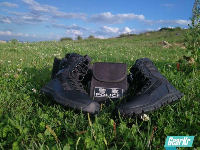PSIGEAR PB03273BK 三叉戟8寸超轻作战靴测评(组图)
