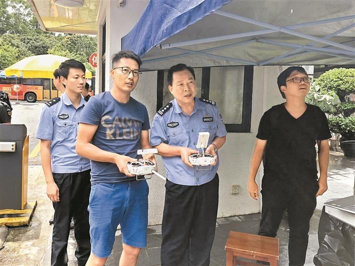 广东深圳:让无人机警务应用与社会面管控全面发展,服务民生(组图)
