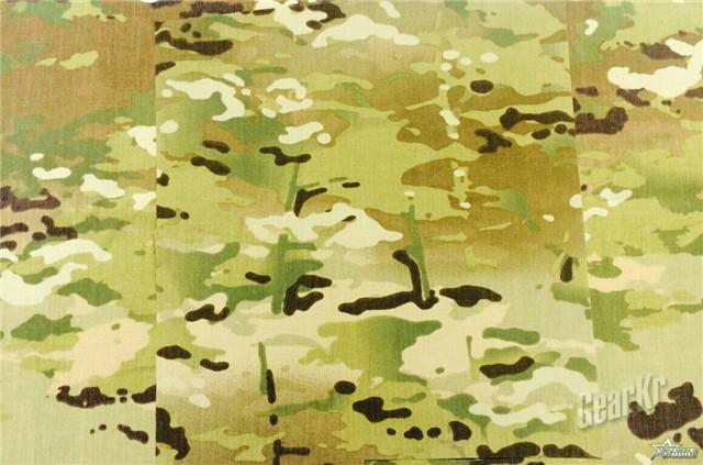 美军装备的作战服的三款迷彩涂装对比测评(组图)