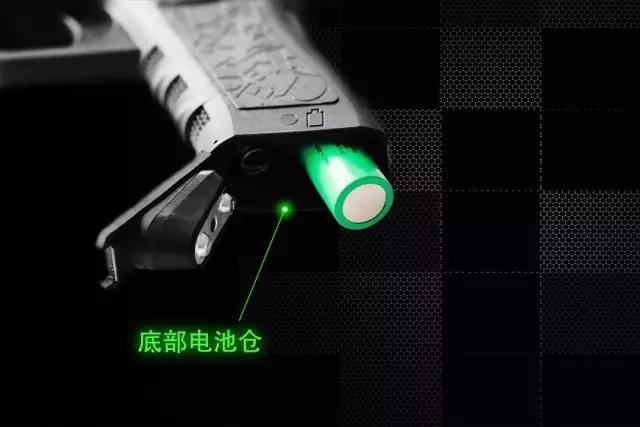 不装子弹也可制敌的手枪—激光眩目枪(组图)