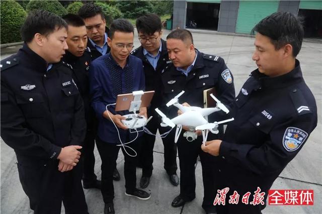 星际无人机系统助力渭南交警应对国庆返程高峰(附视频)
