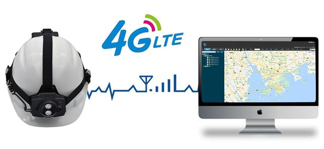 4G智能头戴式摄像巡检灯,黑马强势来袭!(组图)