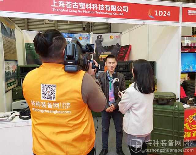 本网专题报道组走进2018上海应急消防展(组图)