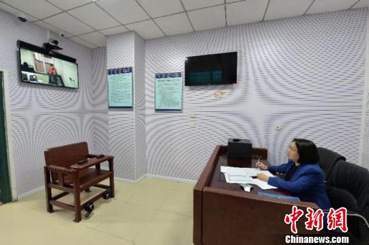 北京警方创建律师快速远程会见新模式(组图)
