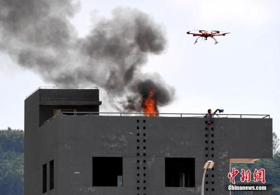 澳门消防局拟购置无人机协助紧急救援(图)