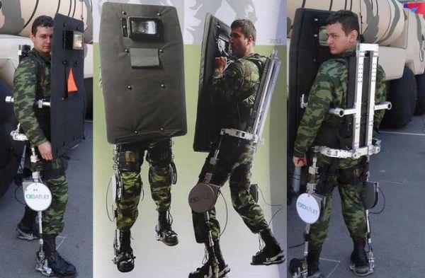 军用人体外骨骼系统 打造未来超级战士(组图)