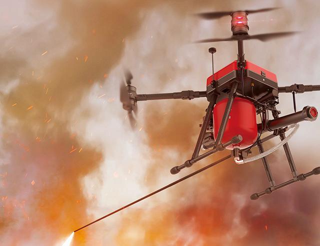 应用前景广阔 救援无人机市场大爆发(组图)
