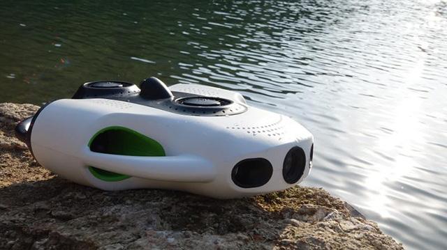 约肯机器人推出BW Space Pro 为全球首款具有变焦拍摄功能的水下无人机(图)