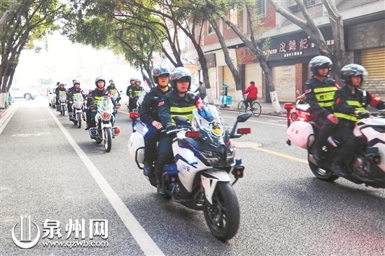 福建泉州鲤城启动110接处警勤务新模式 更快速更便民(组图)