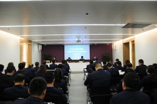 陕西西安市场监管局举办智慧监管平台上线运行 暨执法装备配发仪式(组图)