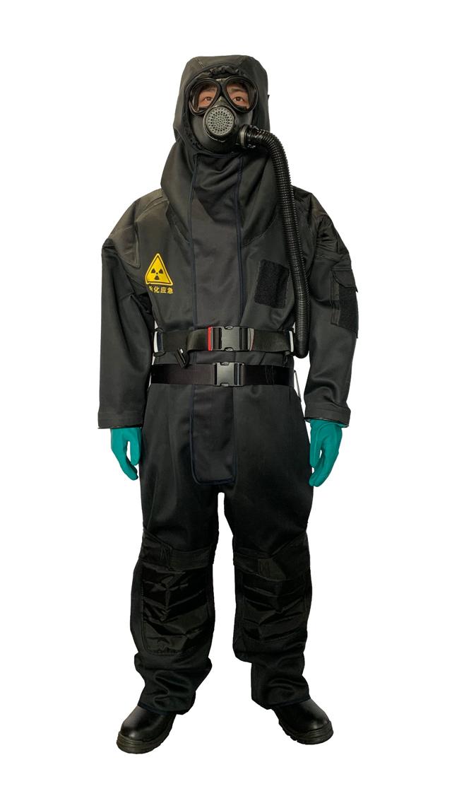 重磅首推——最新型无铅核生化核辐射应急防护服(组图)
