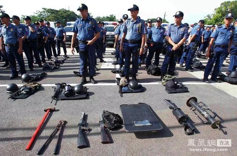 中国的这款装备打脸菲律宾特警 可快速破窗救援(附视频)