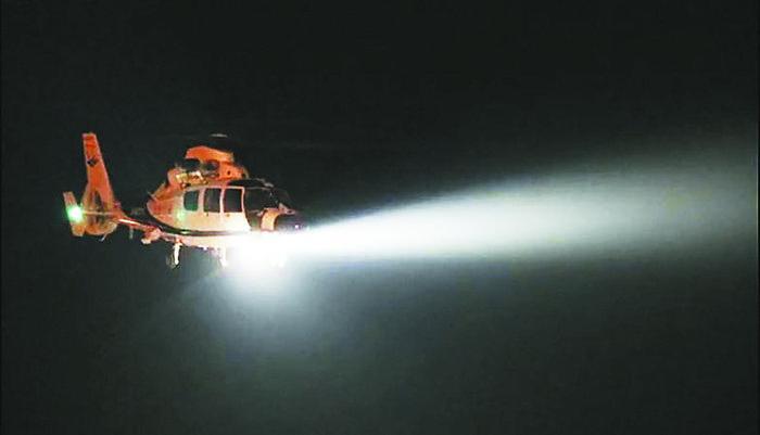 警用直升机未来将夜巡安徽合肥(图)