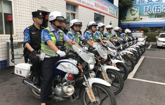 """四川雅安石棉成立""""交巡合一""""新警务机制(组图)"""