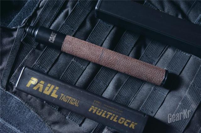 "Paul Tactical—""保罗""牛皮柄标准版机械伸缩棍,使用初体验(组图)"