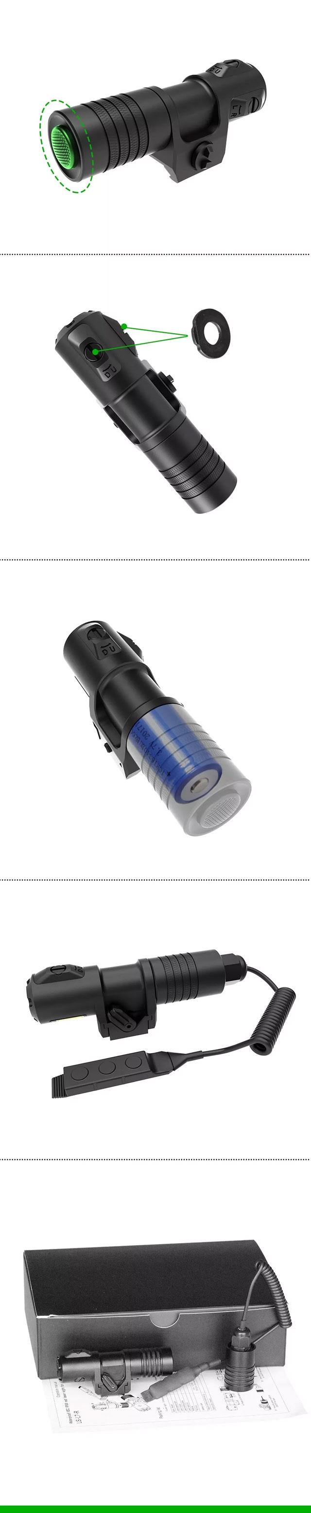 步枪功率可调激光瞄准器-大黄蜂(组图)