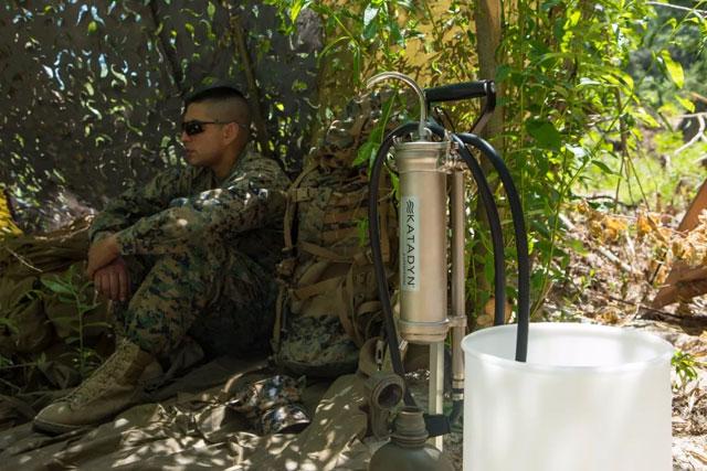 Katadyn Expedition 班用净水装置为洪灾救援提供洁净饮水(组图)