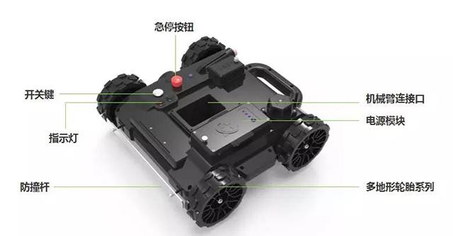 新一代清障机器人亮相 可侦察探测爆炸威胁(附视频)