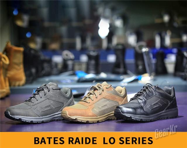 轻便透气夏日之选——Bates 特工4寸综合勤务鞋测评(组图)