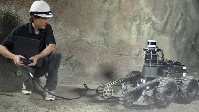 DARPA地下机器人挑战明天开始 11支队伍竞逐(图)