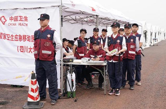 川渝滇黔鄂开展卫生应急联合演练 签署联防联控合作协议(组图)