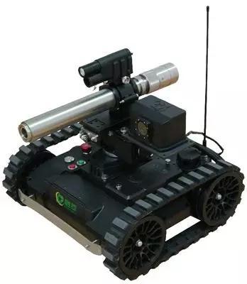 智能小型销毁机器人正式上市 可几秒销毁爆炸物(附视频)