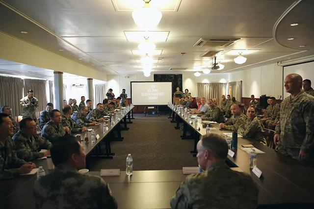 2019年中美两军人道主义救援减灾联合演练举行(组图)