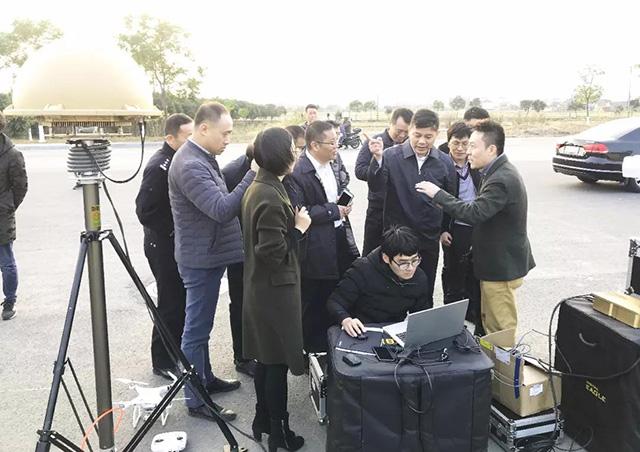 江苏省公安厅领导莅临数字鹰科技盐城分公司考察指导 共建平安城市(组图)
