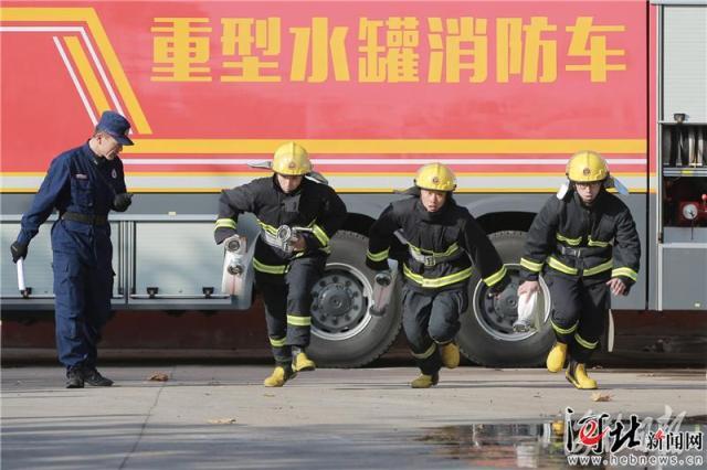 河北石家庄微型消防站实现重点单位和社区全覆盖(组图)