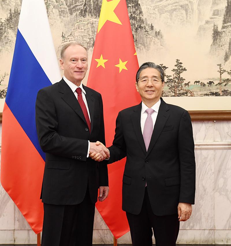 中俄执法安全合作机制第六次会议在北京举行(图)