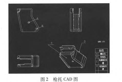 一种智能警用枪械安全装置的设计