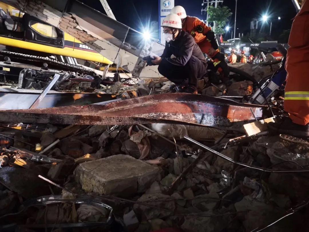 救援生命的力量!生命探测仪泉州坍塌酒店现场链接生命信号(附视频)