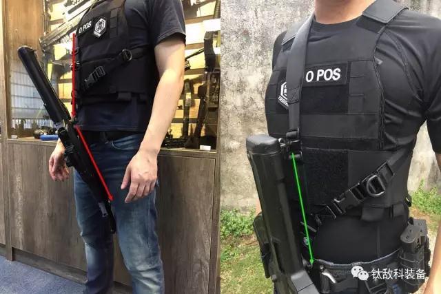 无懈可击的体验——世界上第一条磁力扣95专用多功能战术枪带正式诞生!(附视频)