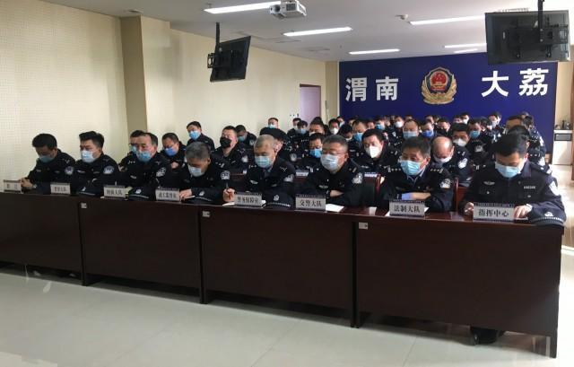 陕西省渭南市大荔公安:警务实战技能练兵开班了(组图)