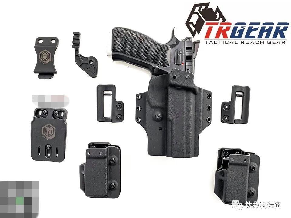 刀锋战士 - 钛敌科装备RazorBlade多用途战术Kydex枪套(组图)