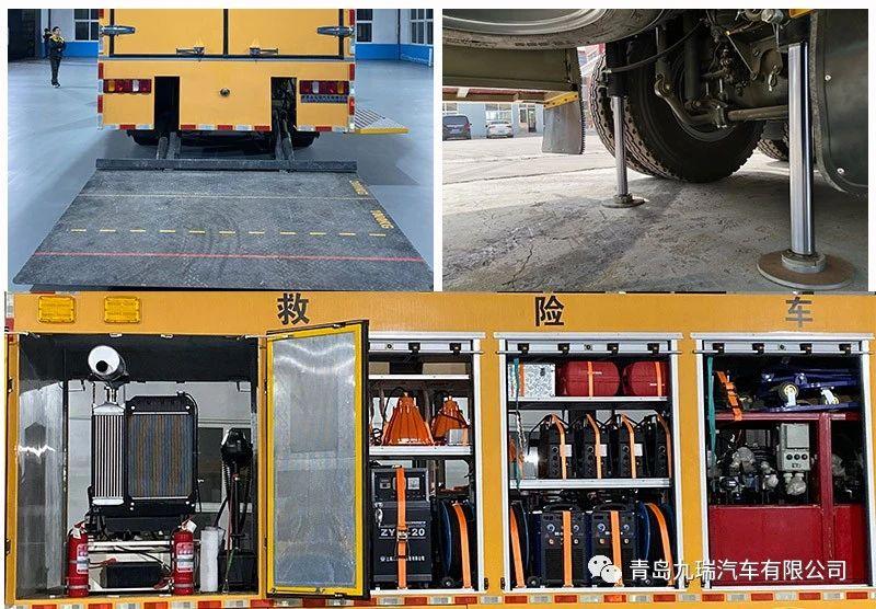 国内首台6×6越野抢险救援车 交付使用(附视频)