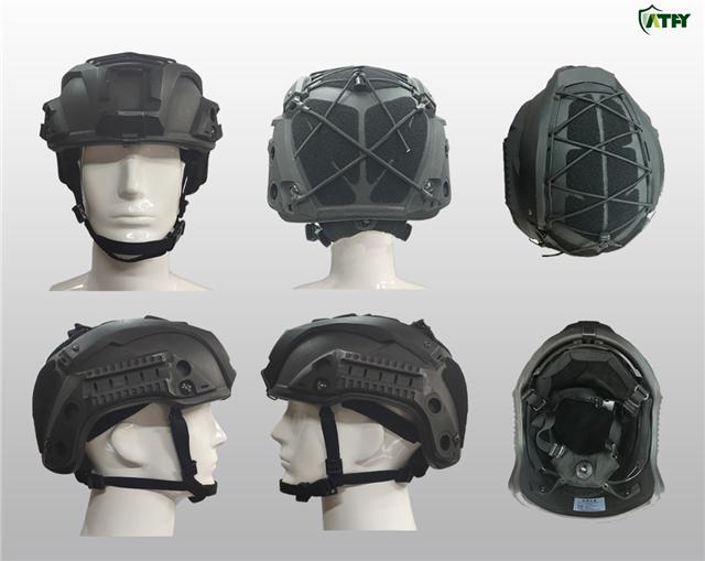 武装全方位!凯芙拉战术头盔可搭载各类战术附件