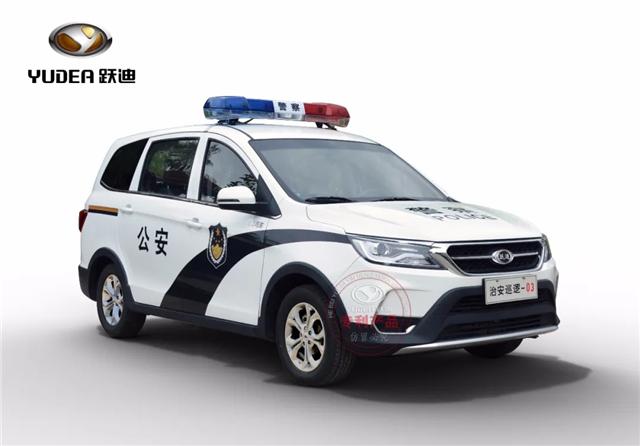 一车一展 | 跃迪T98MPV巡逻车(组图)