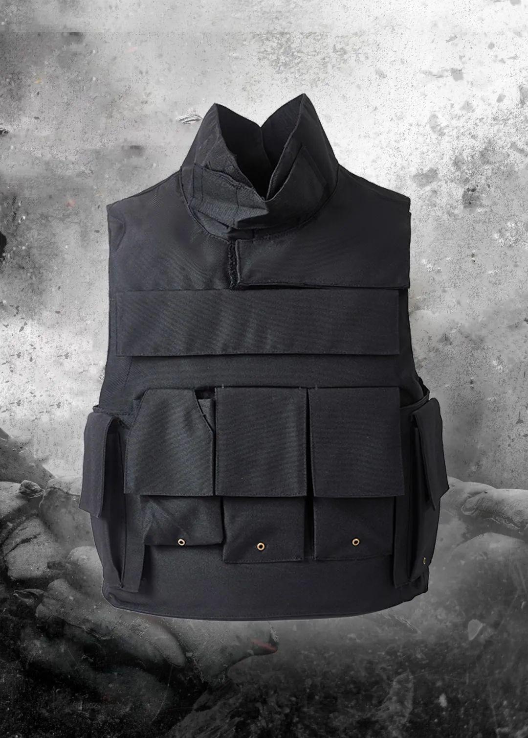 新品丨长城防护韩版有领款防弹衣(组图)