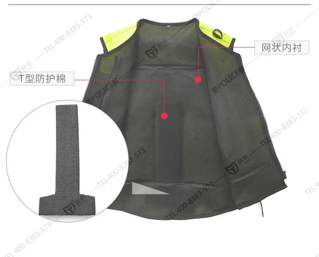 新品丨守护铁骑警的安全气囊马甲!(组图)
