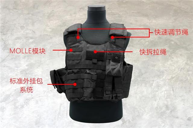 新品 | 长城防护K19005战术款快拆防弹衣(附视频)