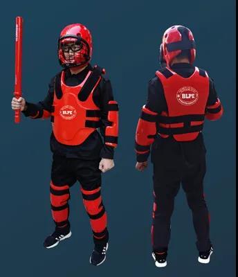 公安部012入围对抗训练装备!国产红人训练套装 警察战术训练最佳护具(组图)